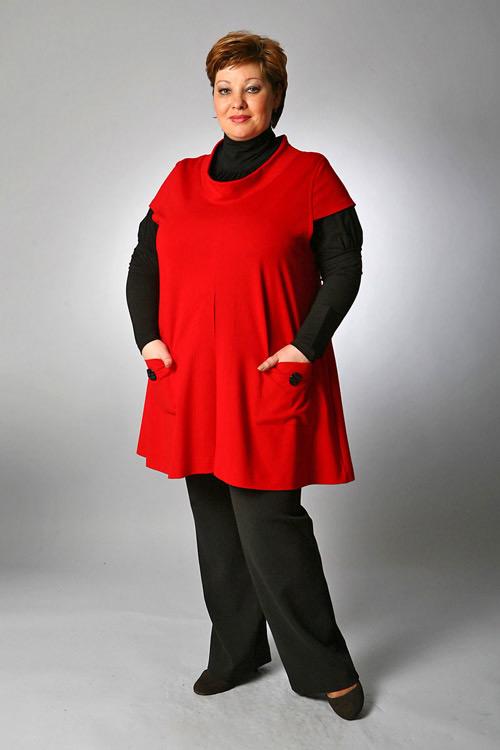 Одежда Полных Женщин России