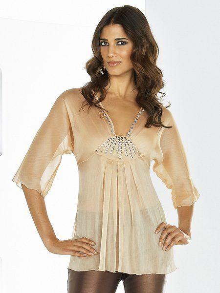 Блузка на новый год