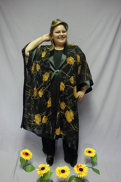 Модели Одежды Для Полных Женщин Накидки Из